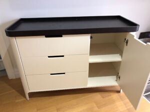 Baby dresser and change table