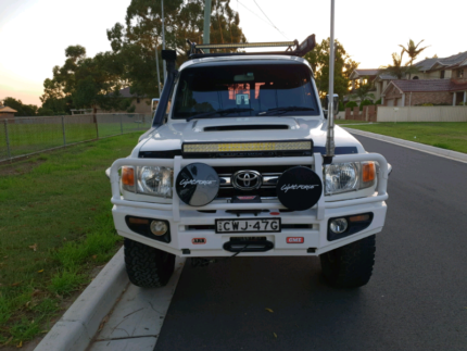 2010 Toyota landcruiser vdj 76r Revesby Bankstown Area Preview