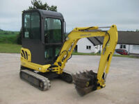 2004 NEW HOLLAND EH18C MINI DIGGER EXPANDING TRACK