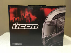 PRICE REDUCED!!!  -  ICON AIRMADA RUBATONE MOTORCYCLE HELMET