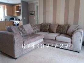 Brand New PVC Corner Sofa