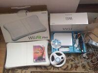 Nintendo Wii bundle + board