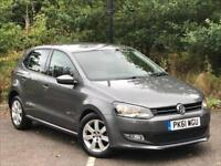 Volkswagen Polo 1.4 Match DSG 5dr PETROL AUTOMATIC 2011/61