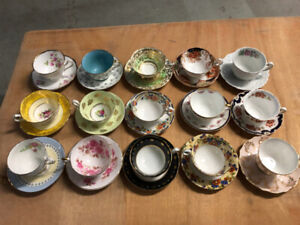 For sale fine bone china C&S at $ 18 a pair by Aynsley, Coalport