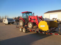 2016 TYM T654 Tractor and Loader,backhoe package