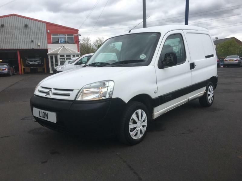2003 Citroen Berlingo 1.9 D 600D LX Panel Van 4dr