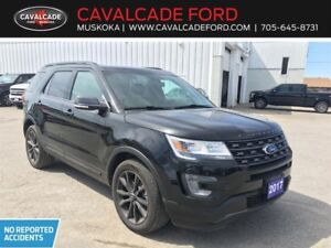 2017 Ford Explorer XLT 4WD leather, Roof, Nav, trailer tow pkg!!