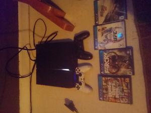 Ps4 and 9 games
