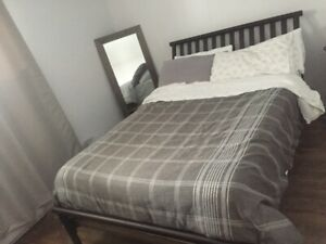 LIT DOUBLE A VENDRE- DOUBLE BED FOR SALE