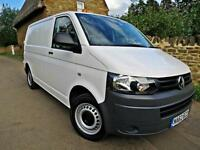 2012 VOLKSWAGEN TRANSPORTER T5 2.0TDi ( 102PS ) SWB T28 T5.1. LOW MILEAGE !!
