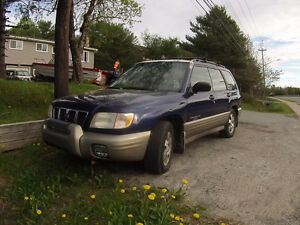 2001 Subaru Forester Blue Ridge Wagon