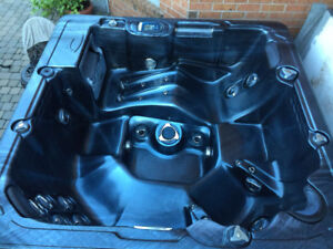 Hot tub including cover