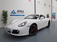 2010/10 Porsche Cayman 3.4S Manual + Sat Nav + Low Mileage + Superb Condition