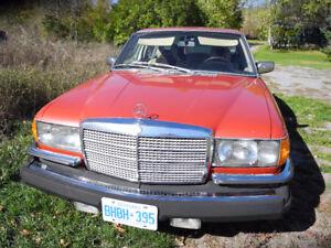4 X MERCEDES BENZ W116 1978 450SEL 6.9 GASOLINE V8
