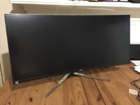 LG 34uc97 curved ultrawide pc monitor