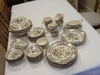 Indian Tree China 6 place dinner and tea set