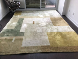 Beautiful 8' X 10' Silk Rug