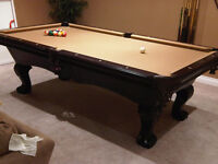 POOL TABLE INSTALLATION ,DELIVERY AND REPAIRS