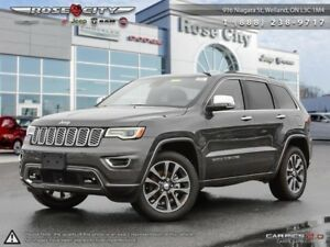 2018 Jeep Grand Cherokee Overland 4x4  - Leather Seats