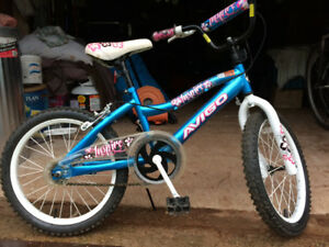 "Girls 18"" bicycle for sale, like new condition"