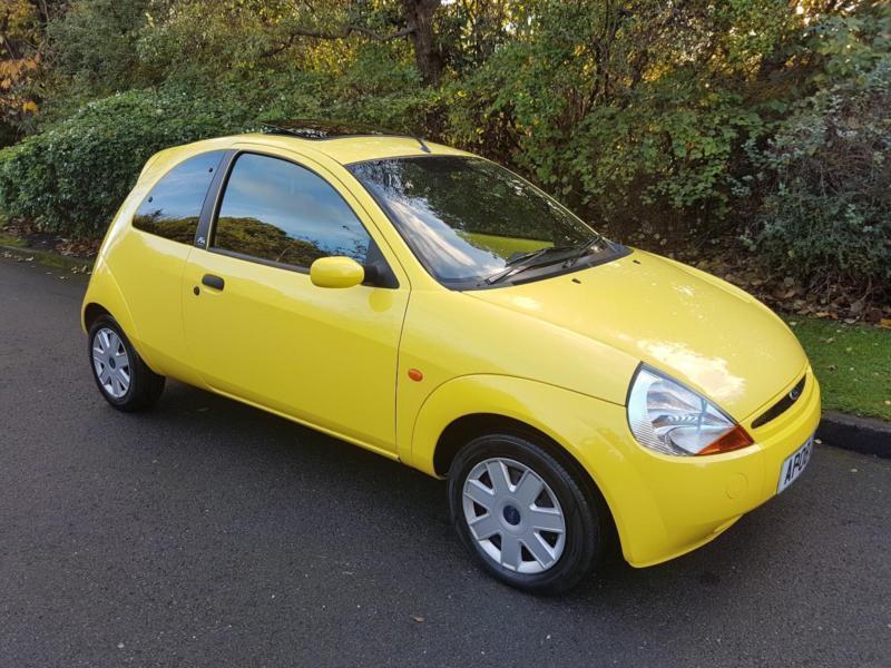 Ford Ka   Zetec Climate  Yellow Rare Car Spec