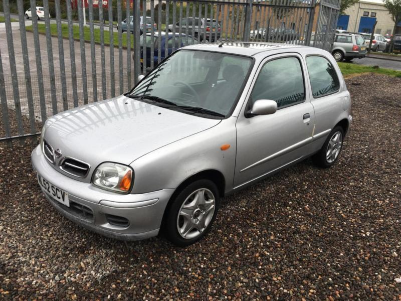 2002 nissan micra 1 0 tempest in kirkcaldy fife gumtree. Black Bedroom Furniture Sets. Home Design Ideas