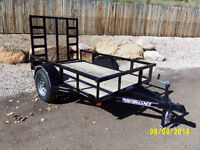 Single axle utility trailer for sale