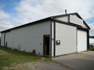 30' x 60' Shop Garage for Rent in Cold Springs North of Cobourg
