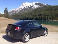 2009 2 door Ford Focus coupe