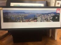 Hong Kong landscape print. Reduced this week only