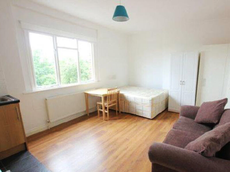 Set within a PERIOD CONVERSION - large living space, open plan kitchen and shower with w/c.