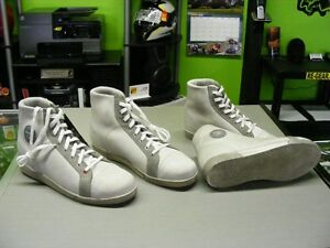 TCX - Retro / Cafe Shoes - Off White Leather at RE-GEAR