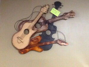 Guitars wall hanging