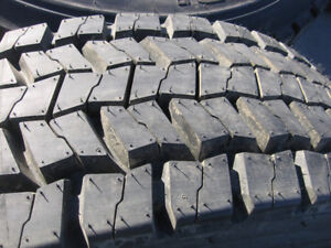 NEW Continental HDR & HSR Tires 225/70R19.5