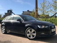 2014 63 AUDI A3 2.0 TDI SPORT (VAT QUALIFYING ) BUY FROM ONLY £47 PER WEEK NO D
