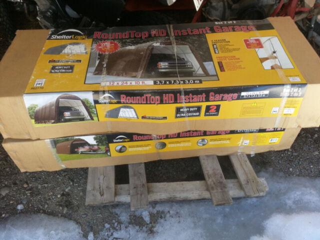 Shelterlogic 12x24x10 portable shelter | Outdoor Tools ...
