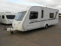 Swift Challenger 570 4 Berth Caravan with Fixed Double Bed & Rear Washroom