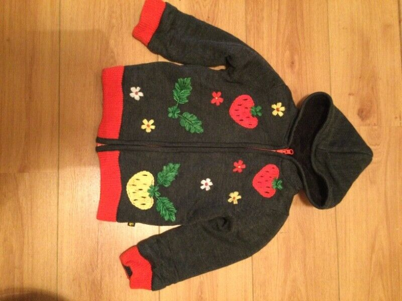 Embroidered Hoodie 3-4 years of age