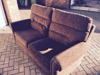 brown sofa free delivery Bristol