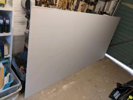 Knauf 12.5mm plasterboard new full sheet