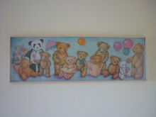 Long Teddy Bear Picture. Nursery, Baby or Bear Collectors. Prospect Launceston Area Preview