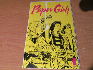 Paper Girls Completed Series Issues #1-5 Brian K. Vaughan Saga