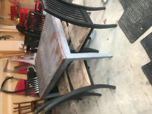 Kitchen Table with 6 Chair Set