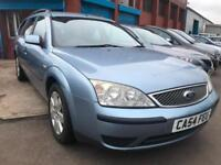 Ford Mondeo 2.0TDCi Mistral ESTATE DIESEL NEW MOT CHEAP TO RUN BARGAIN 50MPG!