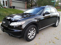 07 Infiniti FX35, meticulously maintained, low km, no accidents
