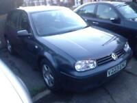 Volkswagen Golf 2.0 2000 V REG GTi grey 5 door FSH VERY CLEAN