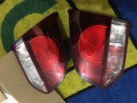 Vw golf mk6 back lights