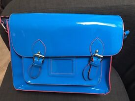 Bright Blue Satchel