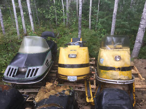 package of 6 snowmobiles for sale