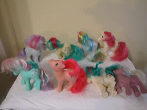 FOR SALE LOTS OF MY LITTLE PONY TOYS